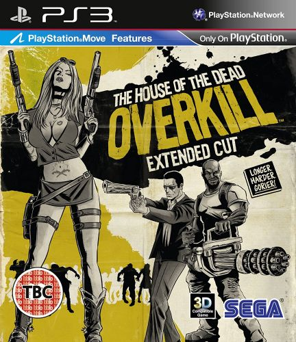House of the Dead Overkill Extended Cut (PS3)